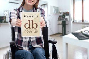 Accessibilità stutture Scuola Estetica Dorabruschi